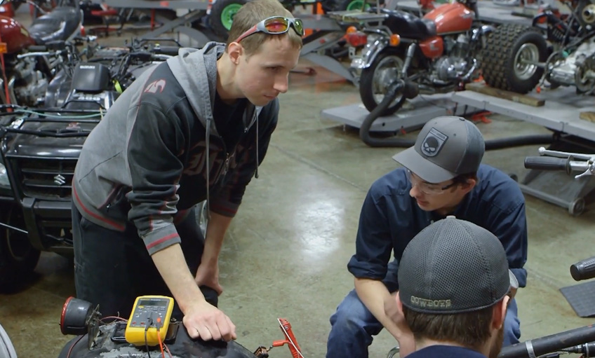 The Motorcycle, ATV & Personal Watercraft Technology program at Southeast Community College is unique to the state of Nebraska. Find out why it's a career track worth exploring.