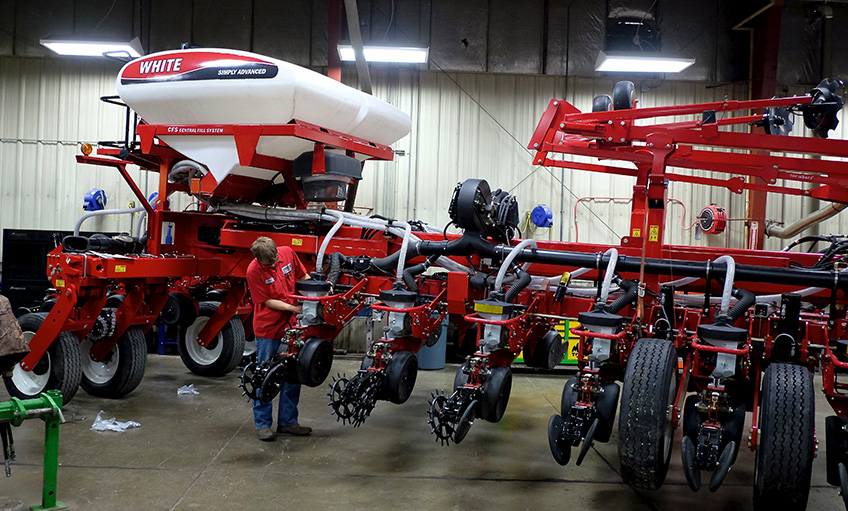 Diesel Ag Equipment Service Tech