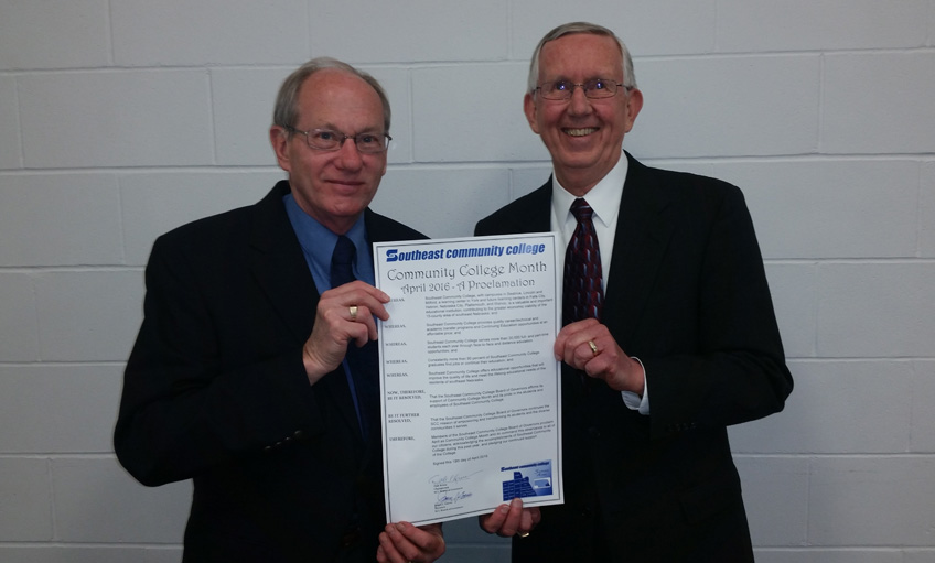 Community College Month Proclamation