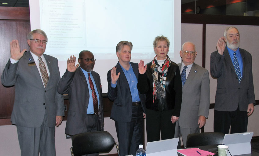 Swearing in of Board of Governors 2017