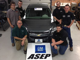 GM ASEP Vehicle