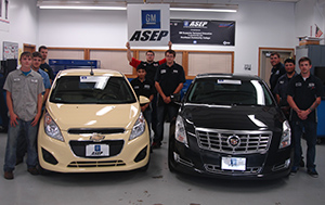 GM Donates Two Vehicles