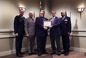 Milford Campus presented with ESGR Award