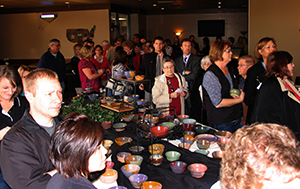 Empty Bowls Crowd At Start