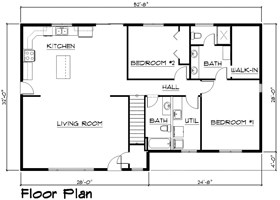 SCC House Auction Floor Plan