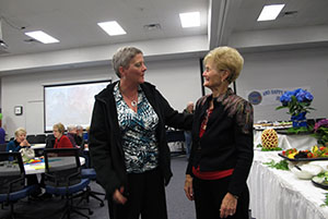 Jeanette Volker and Diane Siefkes
