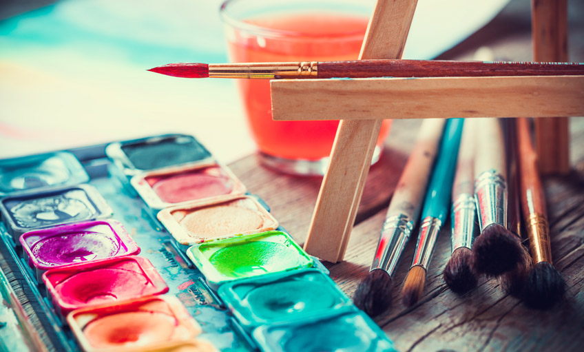 Celebrate World Watercolor Month